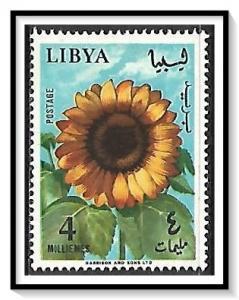 Libya #287 Flowers Sunflower MH