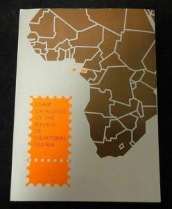 Ecuatorial Guinea 1968/75 Colour  Catalogue Incl. Sheets & Gold (62 Sides) K343