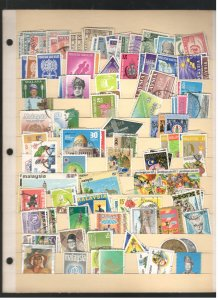MALAYSIA COLLECTION ON STOCK SHEET, MINT/USED