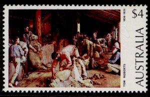 AUSTRALIA QEII SG166b, 1974 $4 shearing the rams, NH MINT.