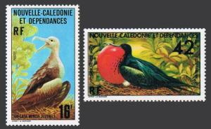 New Caledonia 430,C138,MNH.Michel 598-599. Birds 1977.Young,male frigate-birds.