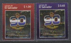 El Salvador 1725-1726 MNH VF