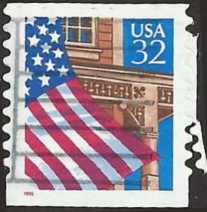 # 2915A USED FLAG OVER PORCH