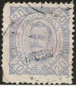 Angola, Scott #28, Used