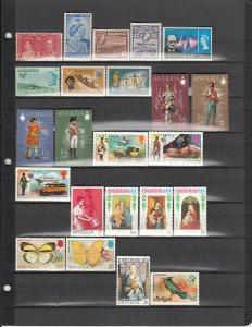 ANTIGUA *79 DIFFERENT MNH 81/1115 SEE DESCRIP AREA LIST 2019 SCV $47.45
