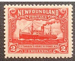 Newfoundland 1923 VF MNH