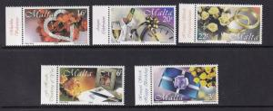 Malta   #998-1002   MNH  2000  Greetings