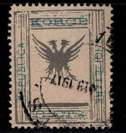 Albania Shqiperise Scott 64 Used double eagle