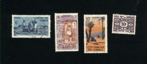Somali Coast 4 different used  PD