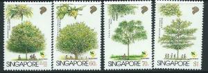 SINGAPORE SG850/3 1996 TREES MNH