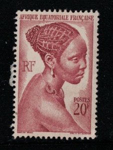 French Equatorial Africa  #183  M   SCV  $ 2.25