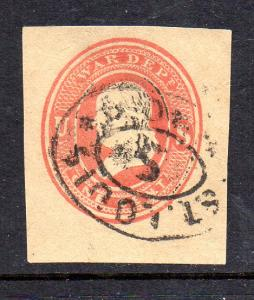 WO46 Used  St.Louis Cancel Type 2
