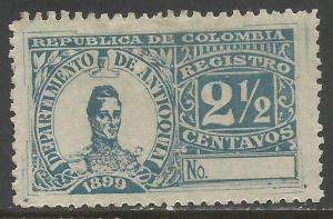 COLOMBIA ANTIOQUIA F3 MOG Z3677
