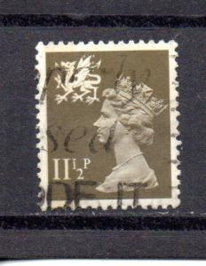 Great Britain - Wales WMMH16 used (A)