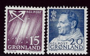 Greenland #52-53 Mint F-VF. Popular Country!