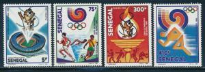 Senegal - Seoul Olympic Games MNH Sports Set (1988)