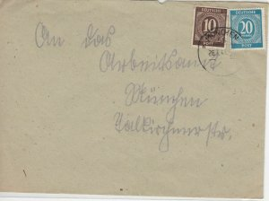 German Postal History Stamps Cover Ref: R4640