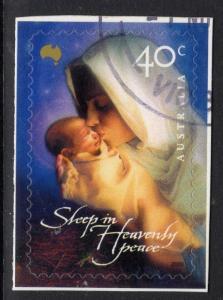 AUSTRALIA SG2059 2000 CHRISTMAS SELF ADHESIVE FINE USED