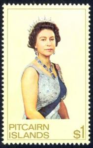 Pitcairn Islands Sc# 146 MNH 1975 $1 Queen Elizabeth II