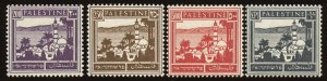 Palestine Sc # 81 - 84, MLH.  2019 SCV $38.75
