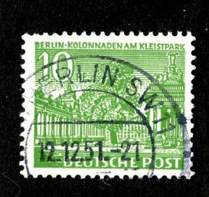GERMANY - BERLIN  9N47 USED  BIN $.35