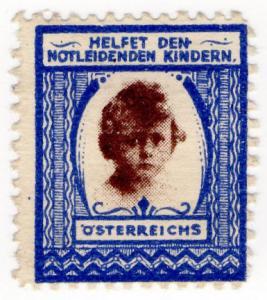 (I.B) Austria (Great War) Cinderella : Distressed Children Fund