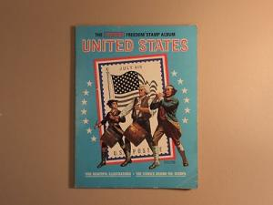 USPS jm8976 The Harris Freedon Stamp Album United States ...