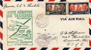 1940, 1st Flt. Noumea, New Caledonia to Honolulu, HI, See Remark (32599)