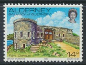Alderney  SG A8  SC# 8 1983 Definitive   Fort  MNH  see scan