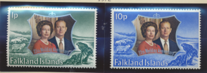 Falkland Islands Stamps Scott #223 To 224, Mint Never Hinged - Free U.S. Ship...