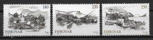 1982 Faroe Islands 83-5 lngalvur av Reyni Sketches C/S MNH
