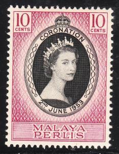 Malaya Perlis 28 -  FVF MNH