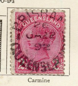 Queensland 1890-94 Early Issue Fine Used 1d. NW-113697