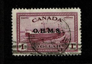 Canada SC# O10 Used / Strong Cancel - S11162