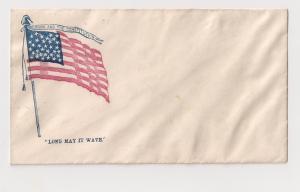 Civil War Patriotic Flag UNION AND THE CONSTITUTION Slogan