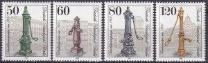 Germany #9N480-83 MNH  CV $6.35 (Z4266)