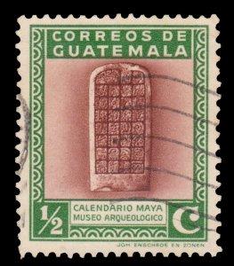 GUATEMALA STAMP 1939 SCOTT # 292. USED.