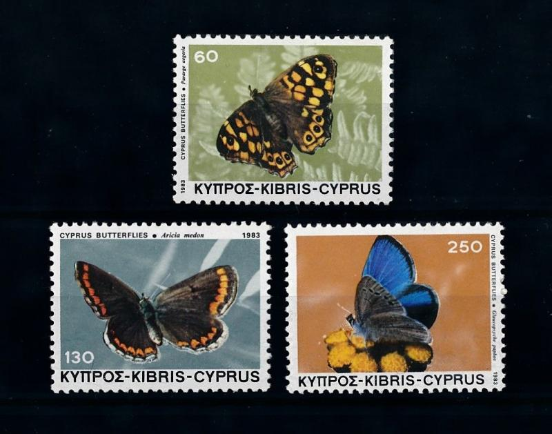 [71500] Cyprus 1983 Insects Butterflies  MNH