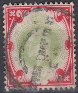 Great Britain #138 F-VF Used CV $40.00  (A9997)