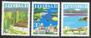 Yugoslavia 779-784 MNH - Yugoslavian Tourist Sites