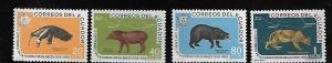 ECUADOR 657-660 MNH ANIMALS