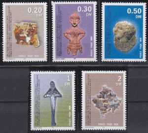 United Nations - Kosovo 1-5 MNH (2000)