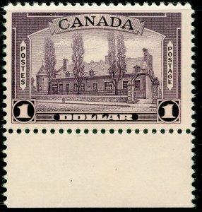CANADA SG367, $1 violet, NH MINT. Cat £65.