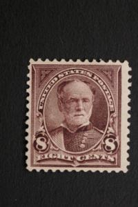 United States #272 8 Cent Sherman 1895