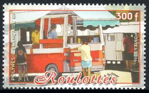 French Polynesia 873, MNH. Mobile Snack Bars, 2004