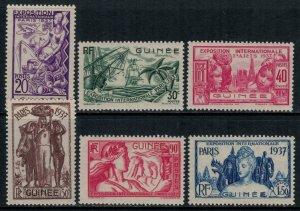 French Guinea #120-5*  CV 12.00