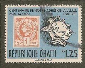 Haiti   Sc.   770H   Stamp Anniversary