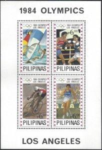 1705 Los Angeles '84 Sailing/Boxing/Cycling/Track CV$40