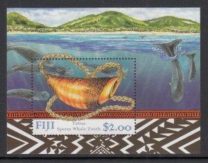Fiji 5824a Whales Souvenir Sheet MNH VF