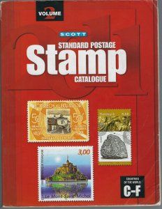 2011 SCOTT STANDARD POSTAGE STAMP CATALOGUE VOLUME 2 (COUNTRIES C-F)